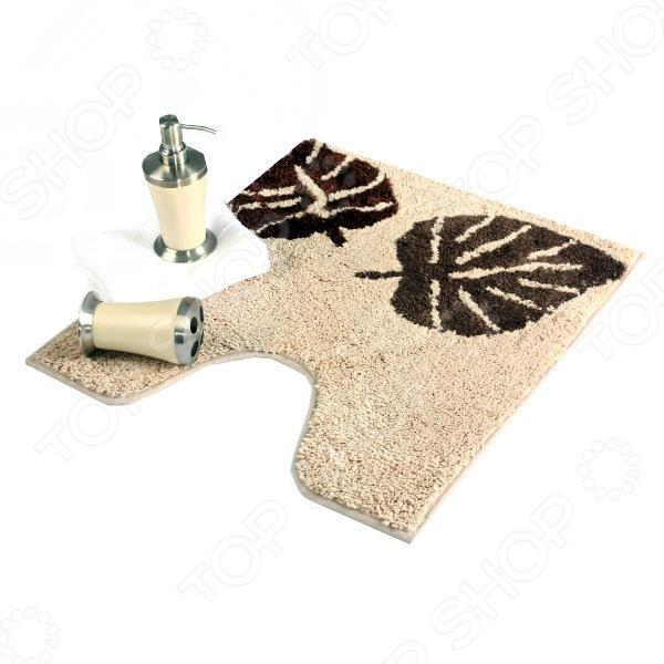 Коврик для туалетной комнаты Welle Monstera коврик