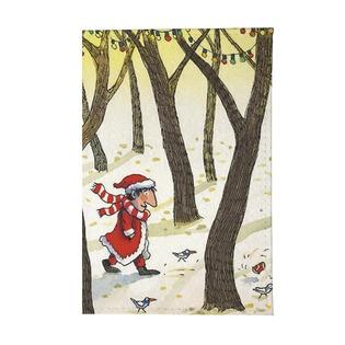 Купить Обложка для автодокументов Mitya Veselkov «Дед Мороз в лесу»