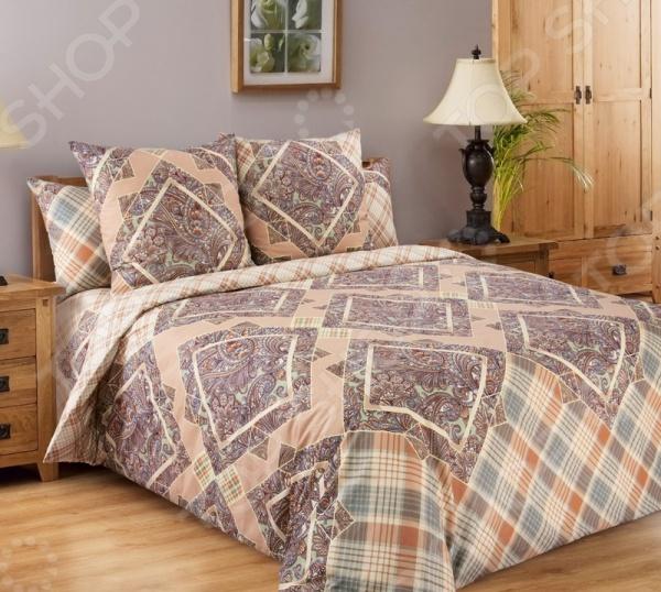 Комплект постельного белья Белиссимо «Итальянка-3». 1,5-спальный1,5-спальные<br>Комплект постельного белья Белиссимо Итальянка-3 это сочетание прекрасного качества и стильного современного дизайна. Он внесет яркий акцент в интерьер вашей спальной комнаты, добавит ей элегантности и изысканности. В набор входит пододеяльник, простынь и две наволочки. Постельное белье выполнено из высококачественной бязи и украшено оригинальным принтом. Бязь представляет собой плотную хлопчатобумажную ткань полотняного переплетения. Она отлично зарекомендовала себя в пошиве постельного белья, благодаря своей воздухопроницаемости, легкости и устойчивости к истиранию. Ткани и готовые изделия производятся на современном импортном оборудовании и отвечают европейским стандартам качества. Рекомендуется стирать белье в деликатном режиме без использования агрессивных моющих средств.<br>