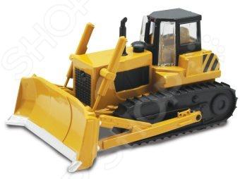 Модель трактора Пламенный Мотор 870157Машинки<br>Модель трактора Пламенный Мотор 870157 обязательно понравится юным автолюбителям. С такой машинкой ребенок сможет придумать множество интересных и увлекательных игр. Этот автомобиль очень похож на настоящий трактор. Играя с такой машинкой, ребенок сможет развивать мелкую моторику рук, а также фантазию и воображение, придумывая различные игровые ситуации.<br>