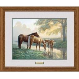 Купить Набор для рисования по номерам Dimensions «Лошади у ручья»