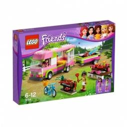 фото Конструктор LEGO Оливия и домик на колесах