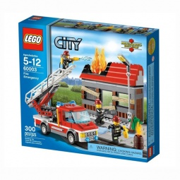 фото Конструктор LEGO Тушение пожара 70612
