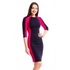 Фото Платье Mondigo 5156-1. Цвет: ярко-розовый. Размер одежды: 44