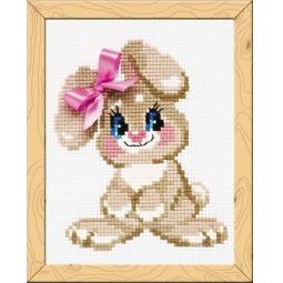 фото Набор для вышивания Сотвори Сама «Крольчонок»