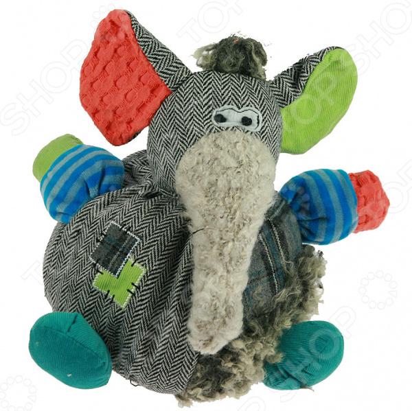 Мягкая игрушка «Слон» 280109Мягкие игрушки<br>Мягкая игрушка Слон 280109 подарит своему обладателю незабываемые мгновения уюта и нежности. Благодаря своему очаровательному дизайну и качественному исполнению, эта мягкая игрушка не оставит равнодушным ни одного малыша и даже взрослого. Однако за счет своего оригинального вида изделие может выступать в качестве украшения интерьера вашей комнаты.<br>