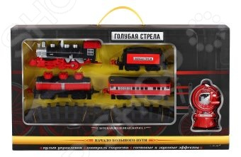 Набор железной дороги на радиоуправлении Голубая стрела «Классик» 87184 набор железной дороги на радиоуправлении голубая стрела классик 87186