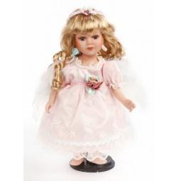 фото Кукла декоративная Shantou Gepai «Ангел в розовом платье»