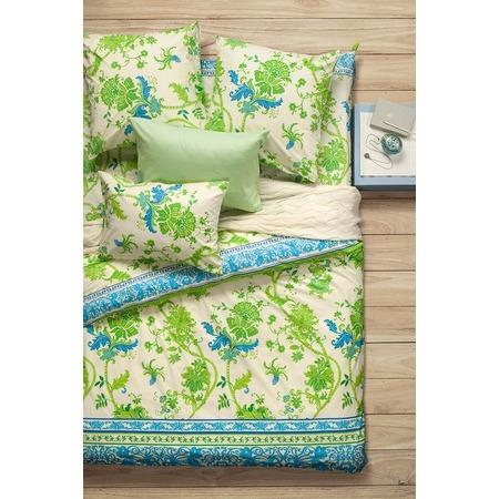 Купить Комплект постельного белья Сова и Жаворонок Premium «Мелисса». 1,5-спальный