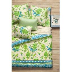 фото Комплект постельного белья Сова и Жаворонок Premium «Мелисса». 1,5-спальный. Размер наволочки: 70х70 см — 2 шт