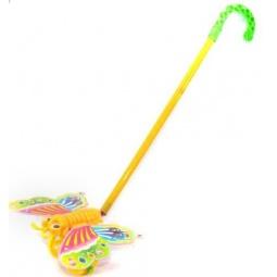 фото Каталка для малыша на палочке Shantou Gepai «Бабочка»