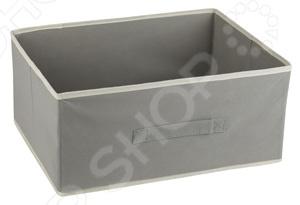 Короб без крышки White Fox WHHH10-345 StandartКоробки. Ящики. Подставки<br>Короб без крышки White Fox WHHH10-345 Standart предназначен для хранения текстиля, белья, одежды, различных аксессуаров или документов. Короб легко можно поместить в шкаф. С помощью сочетания нескольких коробов вы сможете оптимально организовать пространство в квартире, независимо от ее размеров. Короб можно легко перемещать с места на место, благодаря боковым ручкам.<br>