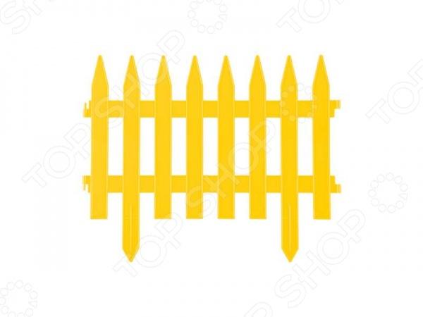 Забор декоративный Grinda «Классика» 422201 Забор декоративный Grinda 422201-Y /Желтый
