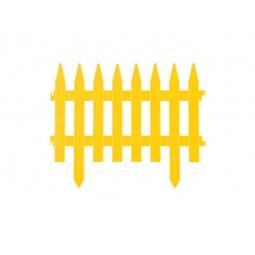 фото Забор декоративный Grinda «Классика» 422201. Цвет: желтый