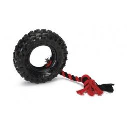Купить Игрушка для собак Beeztees 625814 «Покрышка на веревке»
