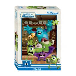 фото Пазл 160 элементов Step Puzzle Pixar. Университет Монстров