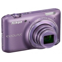 фото Фотокамера цифровая Nikon CoolPix S6400. Цвет: фиолетовый