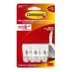 Купить Набор крючков для столовых приборов Command 17067
