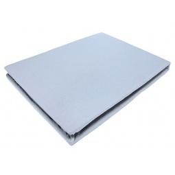 фото Простыня на резинке трикотажная ЭГО. Цвет: голубой. Размер простыни: 180х200 см
