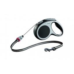 Купить Поводок-рулетка Flexi VARIO M. Цвет: антрацитовый