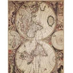 Купить Декупажная карта Karalliki «Карта мира»