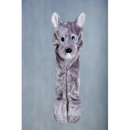 Купить Шапка карнавальная для ребенка Костюмы «Волк» Ш-02