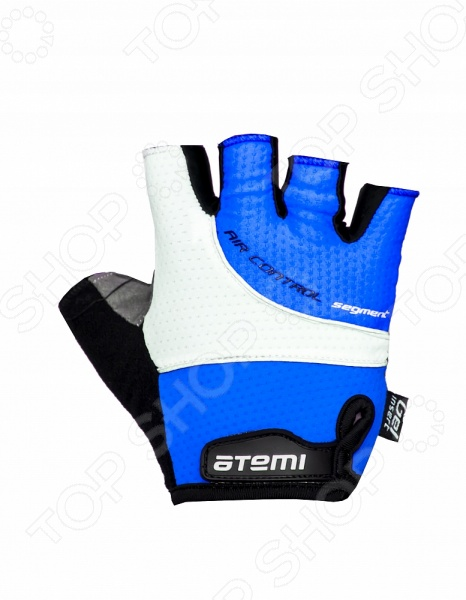 Перчатки велосипедные Atemi AGC-07. Цвет: синий