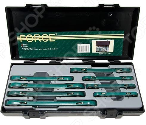 Набор ключей трещоточных Force F-50810