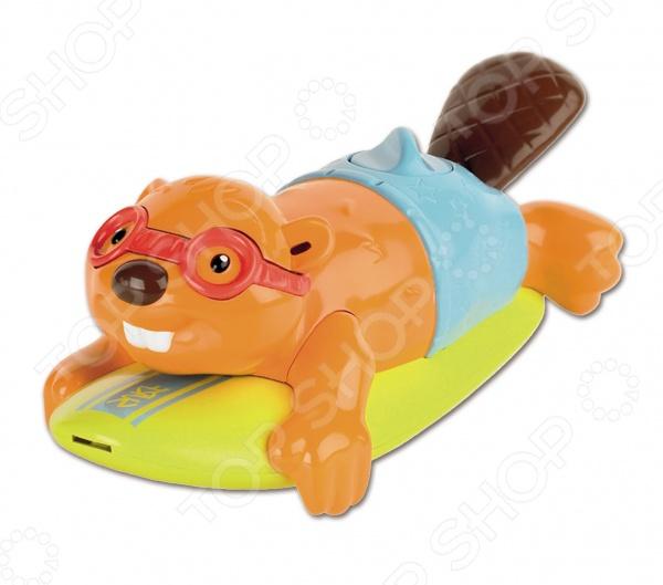 Игрушка для ванны Tomy «Бобер-серфингист»