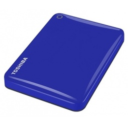 фото Внешний жесткий диск Toshiba Canvio Connect II 1Tb. Цвет: синий