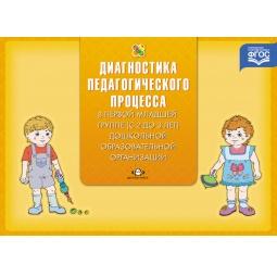 Купить Диагностика педагогического процесса в первой младшей группе (с 2 до 3 лет) дошкольной образовательной организации. Методическое пособие