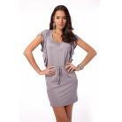 Фото Платье Mondigo 8588. Цвет: серый. Размер одежды: 46