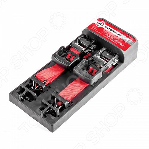 Стяжка для груза Autoprofi STR-900 тросы и ленты для авто autoprofi стяжка для груза autoprofi bun 08