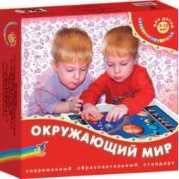 фото Игрушка развивающая Дрофа «Электровикторина. Окружающий мир»