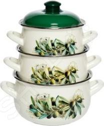 Набор посуды Interos 15231 «Маслины»