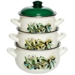 Купить Набор посуды Interos 15231 «Маслины»