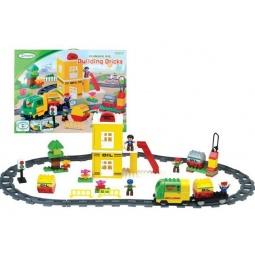 фото Набор железной дороги игрушечный Bairun с заправкой 1698333