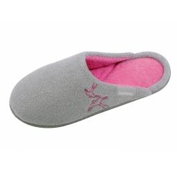 Купить Тапочки детские домашние Isotoner 99248. Цвет: серый