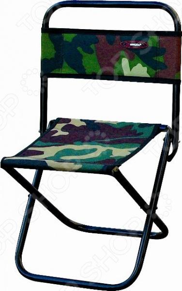 Стул складной Siweida 8708044Стулья и кресла туристические<br>Стул складной Siweida 8708044 создан специально для тех, кто любит отдыхать на природе. Рассчитанная на максимальную нагрузку в 90 кг модель, сделает ваш пикник максимально комфортным и приятным. Прочный стальной каркас диаметр трубы 16 мм обеспечивает прекрасную устойчивость изделия и его долговечность. Сидение и спинка изготовлены из качественного материала, который практически не подвержен истиранию или изнашиванию. Стул легко складывается, поэтому его хранение и транспортировка не доставят проблем.<br>