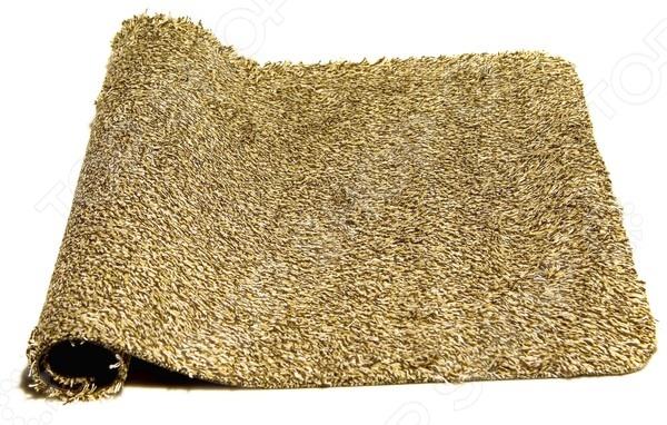 Коврик дверной Clean Step MatДверные коврики<br>Коврик Clean Step Mat прекрасно подойдет как для использования снаружи, за дверью, так и для ванной комнаты. Представленная модель выгодно отличается на фоне своих конкурентов тем, что выполнена из супервпитывающих материалов. Абсорбирующие волокна моментально впитывают грязь, пыль и даже воду, что защищает напольное покрытие преждевременной порчи. Находящийся на страже чистоты коврик, не даст грязи распространится за пределы входа. Для того, чтобы Clean Step Mat не скользил, не сворачивался и не забивался под дверь, его основание выполнено из винила. Перед первым использованием обязательно постирайте коврик, это активизирует абсорбирующие волокна, но учтите, что возможна и допустима потеря небольшого количества волокон. Внимание! Не допускается отбеливание, глажка утюгом и химическая чистка!<br>