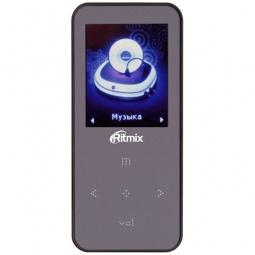 фото MP3-плеер Ritmix RF-4310. Цвет: пурпурный. Встроенная память: 4 Гб