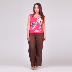 фото Брюки женские Milana Style «Ирен». Размер одежды: 56