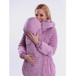 Купить Куртка для беременных зимняя 3 в 1 Nuova Vita 7201.01. Цвет: сиреневый