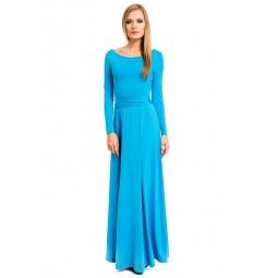 фото Платье Mondigo 7003. Цвет: бирюзовый. Размер одежды: 46