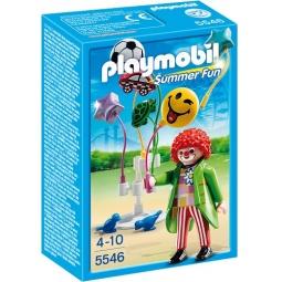 фото Конструктор игровой Playmobil «Парк Развлечений: Продавец шаров Smileyworld»