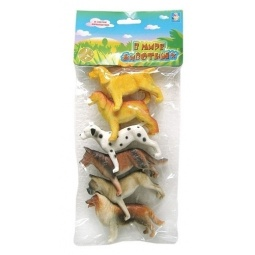 Купить Набор игрушечных собак 1 TOY Т50536