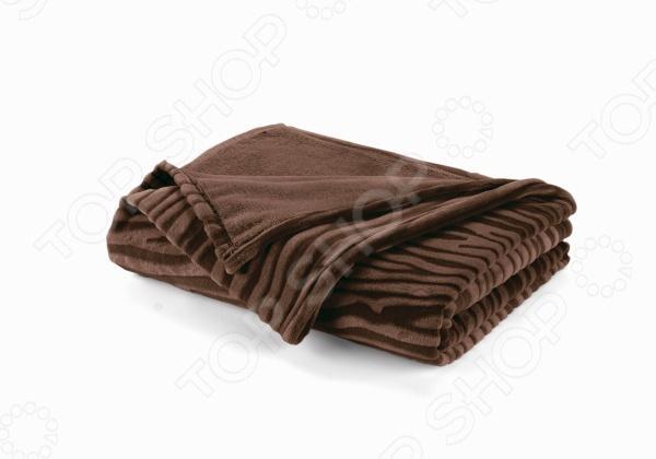 Фото Плед Dormeo Zebra. Размер: 150х200 см. Цвет: коричневый