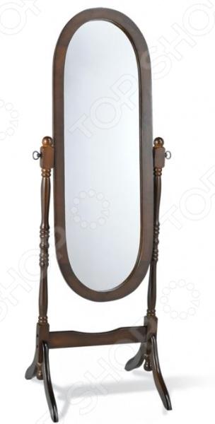 Зеркало напольное Sheffilton 12600SS это сочетание непревзойденного качества и стильного классического дизайна. Оно отлично впишется в интерьер гостиной комнаты или спальни, придаст ему оригинальности, элегантности и завершенности. Каркас зеркала выполнен из натурального каучукового дерева и покрыт тонировочным лаком. Зеркало достаточно большое 111 см в длину , что по достоинству оценят модницы. Благодаря специальным креплениям, угол наклона зеркала можно менять на 360 градусов.