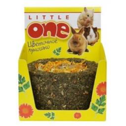 фото Лакомство для грызунов Little One «Цветочное лукошко»