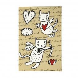 фото Обложка для паспорта Mitya Veselkov «Коты-амуры» OZAM358